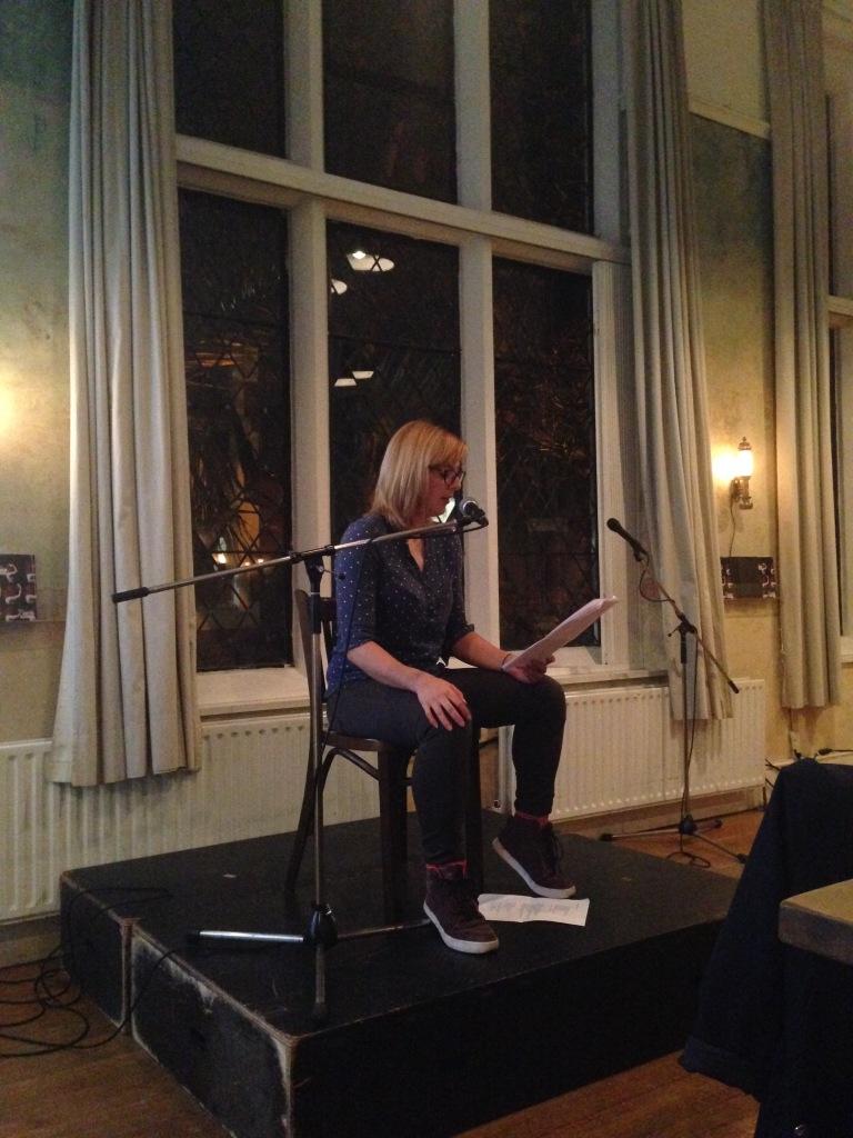 Hannah Nicklin reading