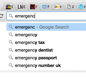 emergency index