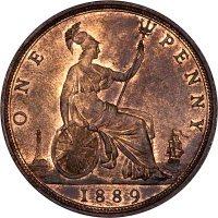 one penny piece