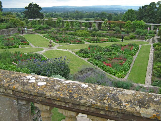 A formal garden